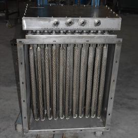 不锈钢风道加热器 空气干烧电热器 烘房辅助电加热器