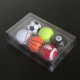深圳現貨高爾夫球透明包裝盒子 PVC吸塑盒 六個裝