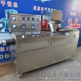 全自动豆腐皮机设备 新式千张机器双扒机 利之健食品