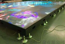 泰美展厅led地砖屏P4.81互动感应屏