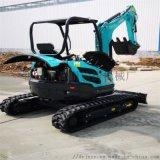 林場挖溝栽樹機 果園小型挖掘機 六九重工 施肥機手