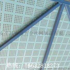 建筑安全防护爬架网 高层围挡 金属板冲孔网 隔离网