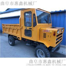 **农用大马力工程车四轮拖拉机柴油四不像运输车