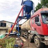 气力输送机 粉煤灰中转自吸式装车机 河北粉料输送机