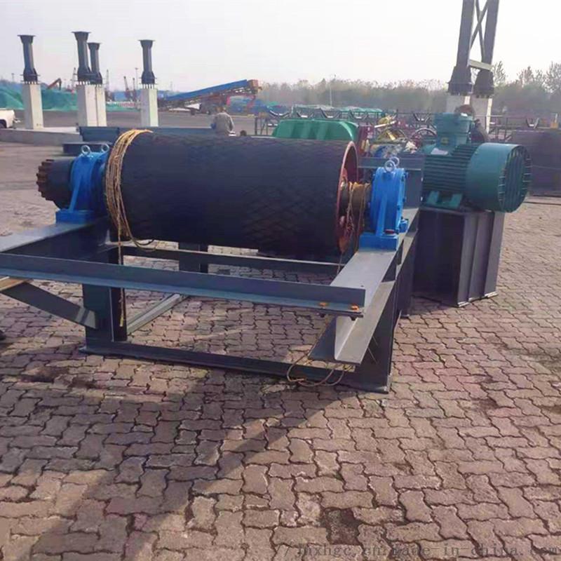 港口皮帶機聚氨酯包膠滾筒 800包膠滾筒廠家維修