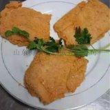 網帶式鹽酥雞塊上粉機 小酥肉上漿裹粉設備