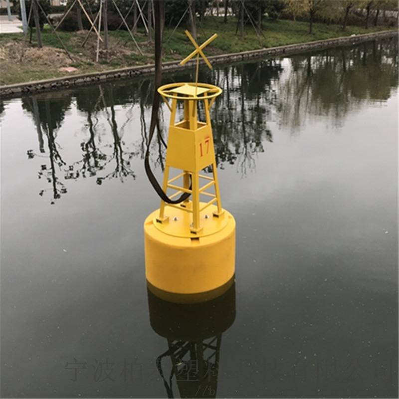 运河禁航区警示浮标 水上施工拦船浮漂