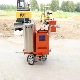 沃特手推式热熔划线机 沥青道路热熔划线机