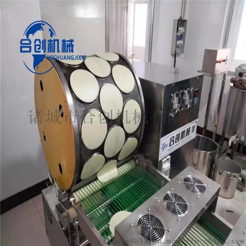 榴蓮千層蛋皮機 卷煎蛋皮機 蛋皮機器一次成型