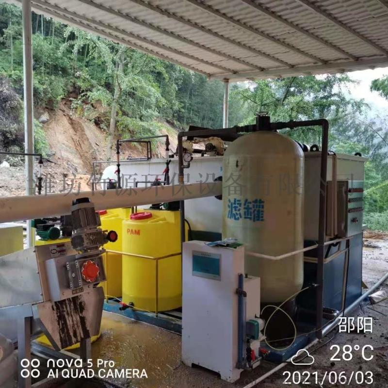 湖南养猪场污水处理设备效果好 竹源供应气浮一体机