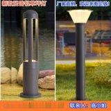 簡約現代草坪燈應用於景區民宿院子燈案例