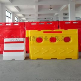 上海金山滚塑水马隔离墩浦东 崇明高速公路水马防撞墩