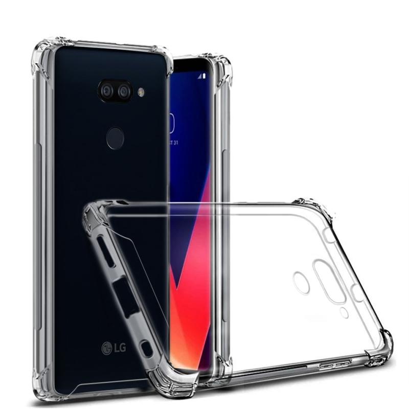 新款LG K40S 防摔亚克力tpu二合一手机壳