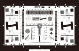 iso12233分辨率测试卡-摄像头测试卡厂家定制