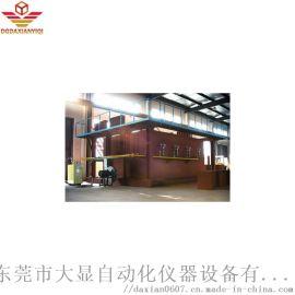 建築構件耐火特性水平爐
