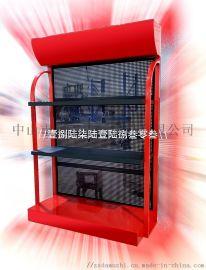 汽油发电机展示架,  店发电机货架生产商