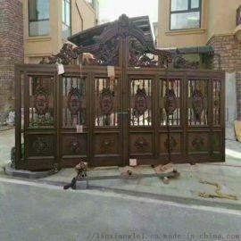 天津武清区别墅庭院大门楼梯栏杆专业制造厂家