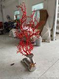 镜面不锈钢梅花鹿雕塑、感受手工艺术魅力效果出类拔萃