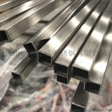 安徽拉絲面不鏽鋼方管,亞光面201不鏽鋼裝飾方管