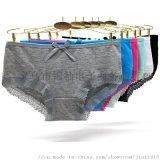 女人内衣现货纯棉女士内裤舒适热销女式三角裤