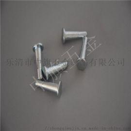 厂家定制非标不锈钢304开口抽芯铆钉 圆头实心铆钉