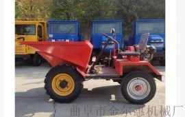 上海园林施工自卸一吨翻/高强度前卸式翻斗车