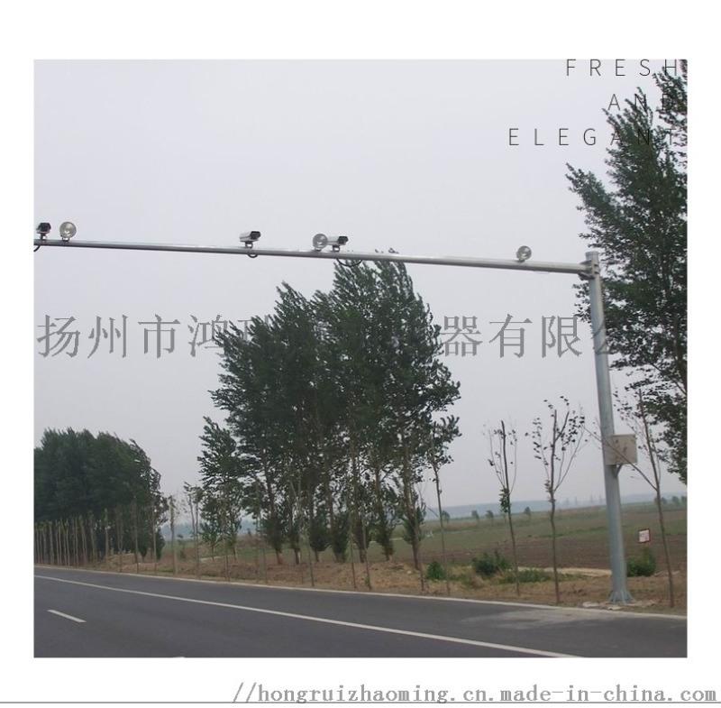 道路監控杆八角杆交通標誌牌