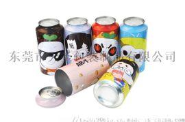 垃圾分类广告宣传礼品铁罐 可回收环保马口铁罐