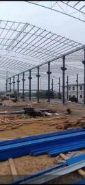 承建广东惠州清远阳山钢结构仓库和厂房维修
