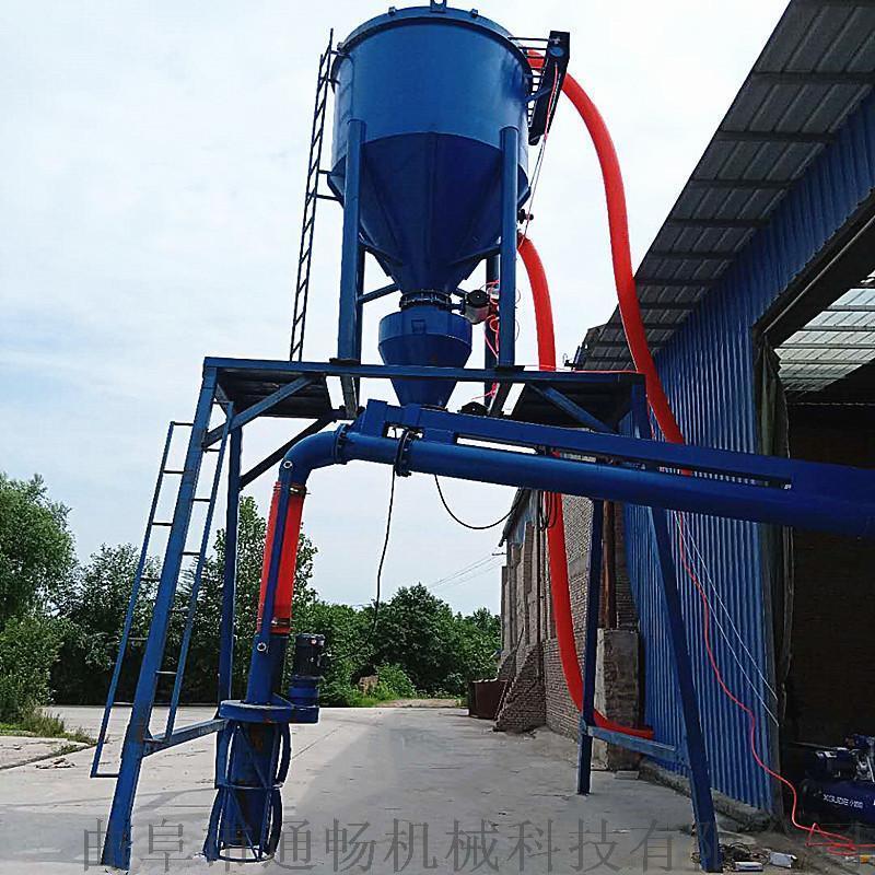 通畅风力吸料机 干灰粉料负压吸送设备 粉煤灰装车机