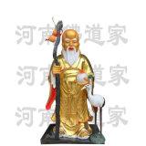 站壽星老雕像 福祿壽神像 河南南極仙翁製作