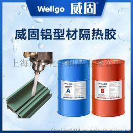 聚氨酯隔热胶 断桥铝注胶胶水威固供应