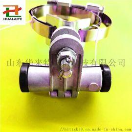 优质杆用ADSS切线线夹,不锈钢带固定光缆直线金具