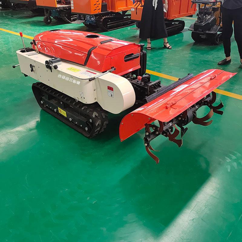 大棚施肥回填机自走式旋耕除草机 五种功能田园管理机