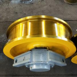 双梁行车起重机车轮组 锻造主动车轮组型号全