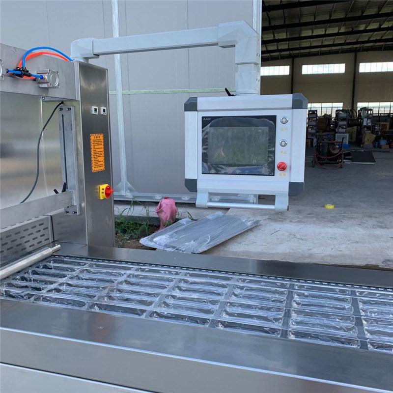 全自动牛肉拉伸膜包装机 牛肉干真空包装机