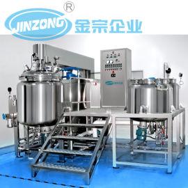 供应 JRK可倾式300L均质乳化机 膏霜生产设备