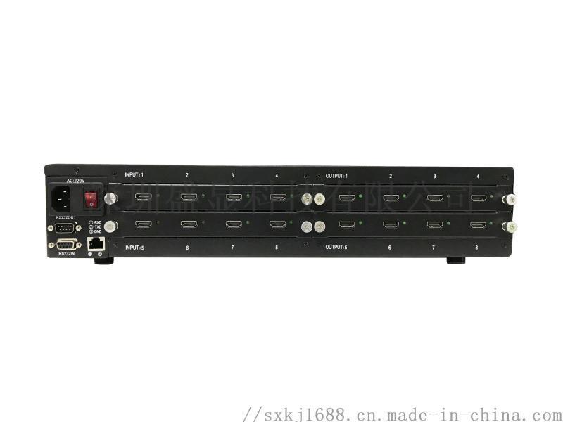 蘭州8進8出hdmi音視頻矩陣支持ipad無線控制