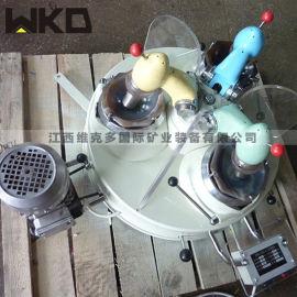 三头研磨机 小型玛瑙研磨机 XPM120*3研磨机