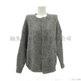 冬季开衫端庄女士长袖针织衫KY-515