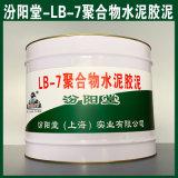 现货LB-7聚合物水泥胶泥、销售LB-7聚合物胶泥