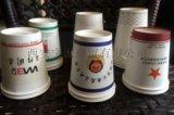 西安紙杯廠家 一次性水杯定製抽紙盒子製作