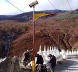 新农村户外海螺臂5米路灯杆超亮高杆庭院灯