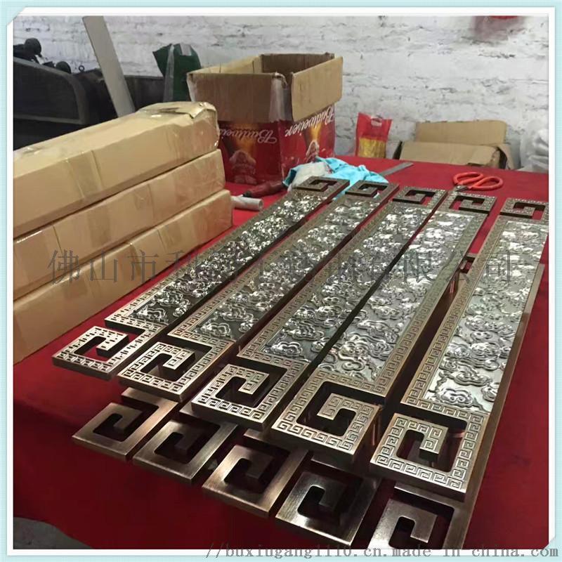 304不鏽鋼圓管鏡面大門拉手廠家