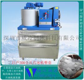 宁波海鲜酒店刺身用日产300公斤鳞片制冰机厂家