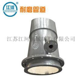 复合管,耐磨陶瓷复合管的应用,江河