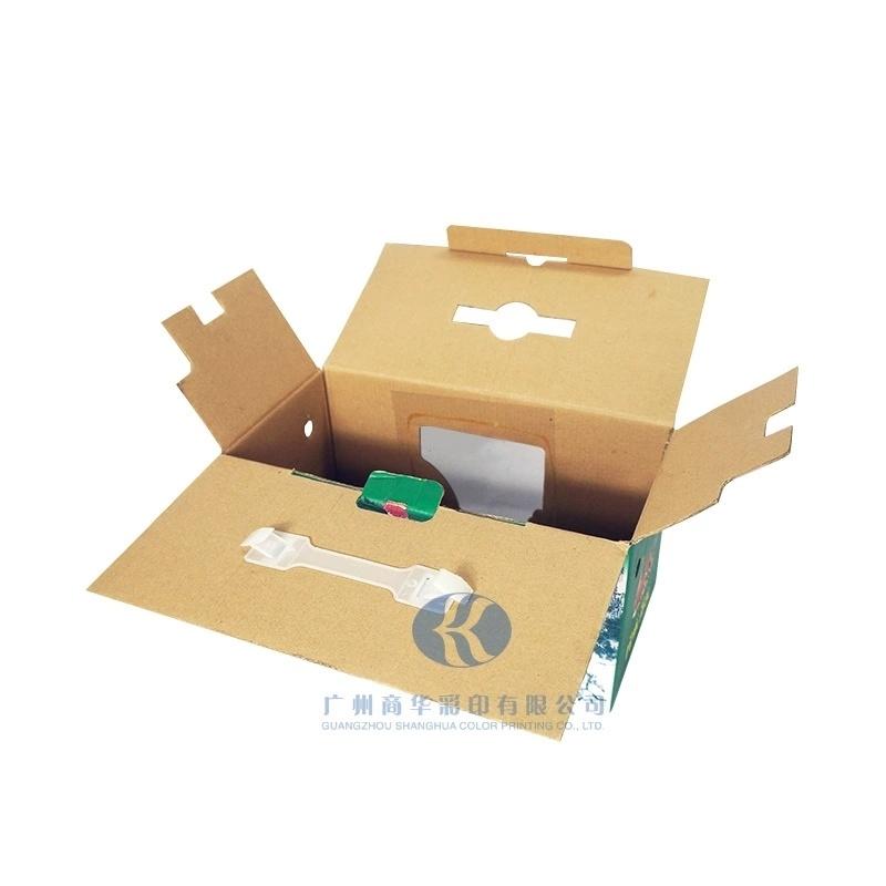 专业定制透明折叠纸盒长方形水果包装盒彩色印刷礼品盒