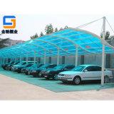 宁波厂家定制阳光板汽车棚,户外停车棚,遮阳雨棚