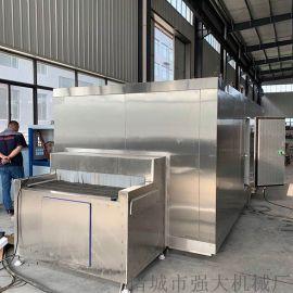 薯条速冻全自动流水线 薯条生产加工设备【包教包会】