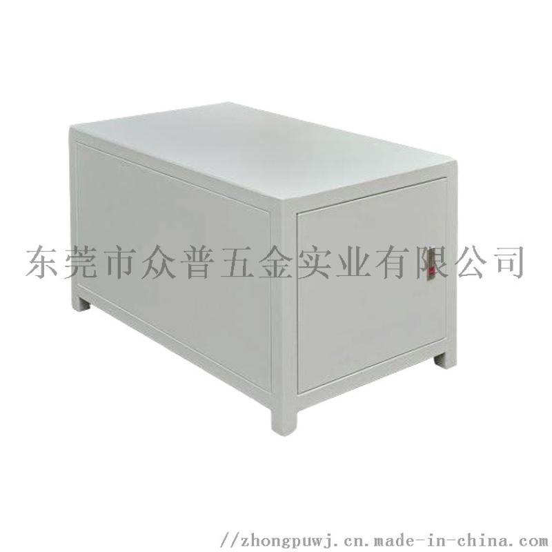 加工厂众普五金不锈钢铝型材钣金加工机箱机柜外壳定制